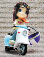 「ピンキーQ ピンキー with ラビットスクーター」