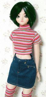 チビT+ヒップハンガースカート by.DDユミ