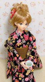 お茶でほっこり by.DDユミ