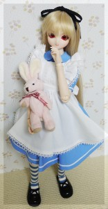 MIKADUKI+42cm(TF)用「アリス」衣装