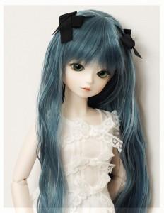 MINORU WORLD Limited Tiny Fairy *May+耐熱【リボンソフトウエーブ】/メランコリーブルー
