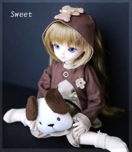 LEEKEWORLD Sweet+HGグラスアイ 16mm L.バイオレット