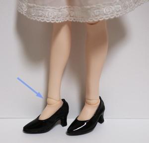 MISUZUの足首