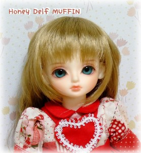 Honey Delf MUFFIN(顔アップ)