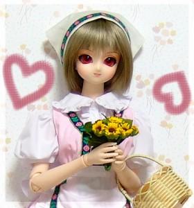 50MZ-002 MIKADUKI「お花いかがですか」の図